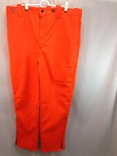 NOS VTG American Field Insulated Hunting Pants Mens 38 x 30 Orange USA