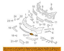 MERCEDES OEM 02-04 C230 Front Bumper-Cover Cap Right 2038851023