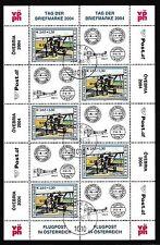 Gestempelte Briefmarken mit Post- & Kommunikations-österreichische