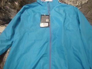 Brand New Blue Endura X Tract Sport Wind Cycling Jacket, Size XL