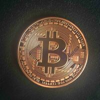 Kupfer überzogene Bitcoin Münze Sammler Geschenk Münze Kunst Sammlung GE