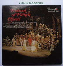 GOSD 674-6 - FESTIVAL OF FRENCH OPERA - Various - Excellent Con 3 LP Record Set