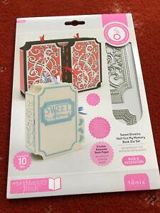 Tonic Studios - Sweet Dreams Half Cut My Memory Book Die Set - 3321E