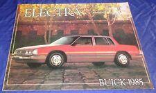BR1813 1985 Buick Electra Park Avenue Dealer Sales Brochure 12pgs