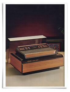 "Poster : Atari 2600 Product Shot from 1982 Catalog - 16x20"" Premium Substrate"