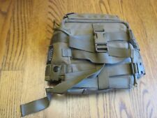 NEW USMC COYOTE BROWN THALES RADIO/ ELECTRONICS POUCH TACTICAL SOFT COVER! COOL