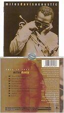 MILES DAVIS Acoustic CD ALBUM