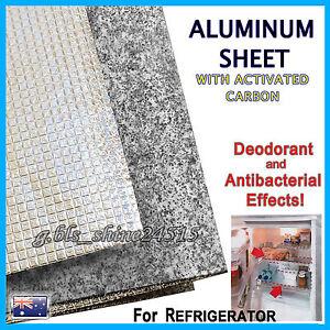 Refrigerator Aluminum Carbon Sheet Cabinet Pad Mat Waterproof Drawer Kitchen