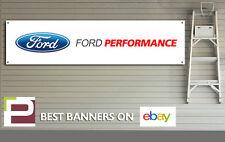 FORD Performance Officina, Garage Banner, PVC con occhielli
