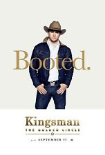 Kingsman The Golden Circle Movie Poster (24x36) - Channing Tatum, Egerton v9