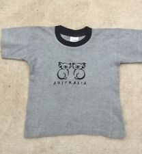 More details for childs grey australian embroided t shirt with cute koala 6 yrs