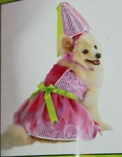 Boutique Princess Sequined Dog Costume Dress Hat M Queen MSRP $30 NEW