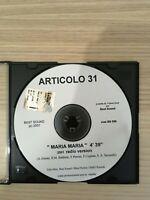 Articolo 31 - Maria Maria - CD Single PROMO - 2001 Best Sound NM RARO!!