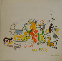 "Crosby,Stills,Nash & Young - So Far Atlantic 50023 12 "" LP (X 53)"