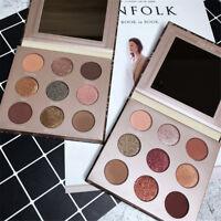 9 Colors Eyeshadow Palette Beauty Shimmer Matte Pearly Glitter Eye Shadow