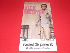COLL.J. LE BOURHIS AFFICHES / ALEX METAYER 1980 La Rochelle Humour Rare