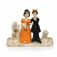 2013 YANKEE CANDLE BONEY BUNCH PROM KING & QUEEN COUPLE DOUBLE TEA LIGHT HOLDER