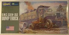 USA, GMC CCKW-353 Dump truck, 1/72 Hasegawa kit 722, model kit