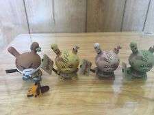 "Kidrobot Dunny 3"" 2011 Huck Gee Zombie Hunter & Zombies Complete AP set 1/25"
