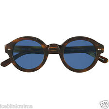 occhiali da sole  round Epos Erebo CT  dark turtle  blue lens 47 27 145  new