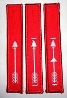 "Order of the Arrow Red/White Centennial/2015 NOAC themed 4.5"" OA Dangle Set"