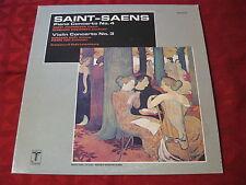 LP Grant Johannesen & Ruggiero Ricci Violin Concerto No. 3 Saint-Saens