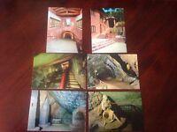 Cartolina Montenero Le Grotte Lotto 6 Cartoline NVG