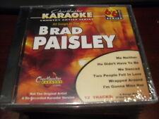 CHARTBUSTER 6+6 KARAOKE DISC 20326 BRAD PAISLEY CD+G COUNTRY MULTIPLEX
