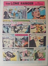 Lone Ranger Sunday Page by Fran Striker and Charles Flanders from 10/13/1957