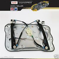 99-08 FABIA MK1 HTACHBACK FRONT RIGHT WINDOW REGULATOR WITH PLATE