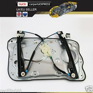 1999-2008 FABIA FRONT RIGHT OSF ELECTRIC WINDOW REGULATOR WITH PLATE