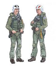 Plus Model 1:48 F-4 Phantom Crew Resin Figure Kit #AL4018