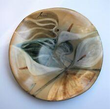 L'Antica Deruta Italy Camilla Moretti Teller signiert Handarbeit Kunst-Keramik