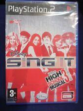 Disney Sing It:High School Musical 3:fin de curso play2 nuevo y precintado