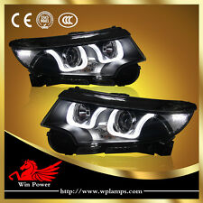 For 2010-2014 Ford Edge HID Headlights With Bi-xenon Projector And LED DRL