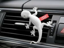 Original Audi Gecko Air Freshener White Cockpit Genuine OEM Interior Accessoires