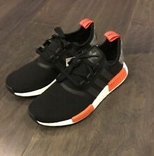 Adidas NMD R1 Men's Boost Running Shoes Sneakers AQ0882 Black New Size 9