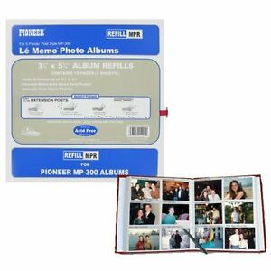 Pioneer MP-300 Refill Pages 5 Pack (Same Shipping Any Qty)