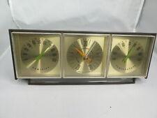 New listing Vintage Taylor Instrument Temperature Humidity Barometer Desktop Weather Station