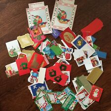 VTG Large Lot of Christmas Gift Tags Unused~mostly 70's & 80's