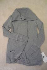 Lululemon Gratitude Wrap Jacket Heathered Medium Grey 8 Purchased 2014