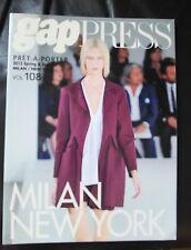 GAP PRESS MAGAZINE 2013 spring and summer  volume 108 Pret-A-Porter