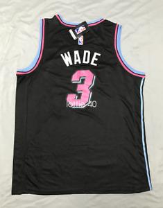 Dwyane Wade #3 Miami Heat Swingman Men's black Jersey