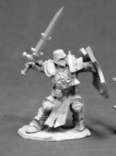 Reaper Miniatures Crusader Champion #03828 Dark Heaven Unpainted Metal