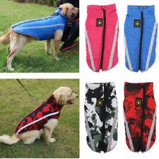 Reflective Waterproof Dog Clothes Jacket Coat Jumper Warm Padded Pet Vest XL-6XL