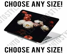 Floral Peony Flowers Universal Laptop Skin Decal Sticker Tablet Skin Vinyl Cover