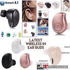 Mini Wireless Bluetooth 4.1 stereo In-Ear Headset Earphone bud Earpiece iphone7