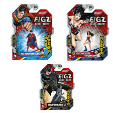 The New 52 Mini Figz Lot Of 3 Superman Wonder Woman Batman Collectibles