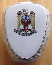 ROMANIAN ARMY BATALIONUL 151 INFANTERIE PORCELAIN VASE, STIPO DOROHOI, ROMANIA