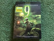 TIM BURTON 9 DVD NEW & SEALED